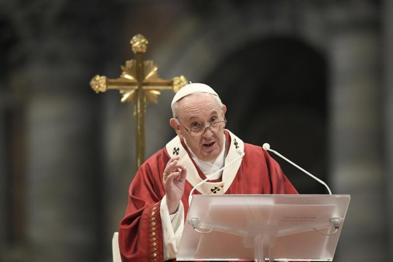 Homili Paus Fransiskus pada Misa Kudus Hari Raya Pentakosta – 23 Mei2021