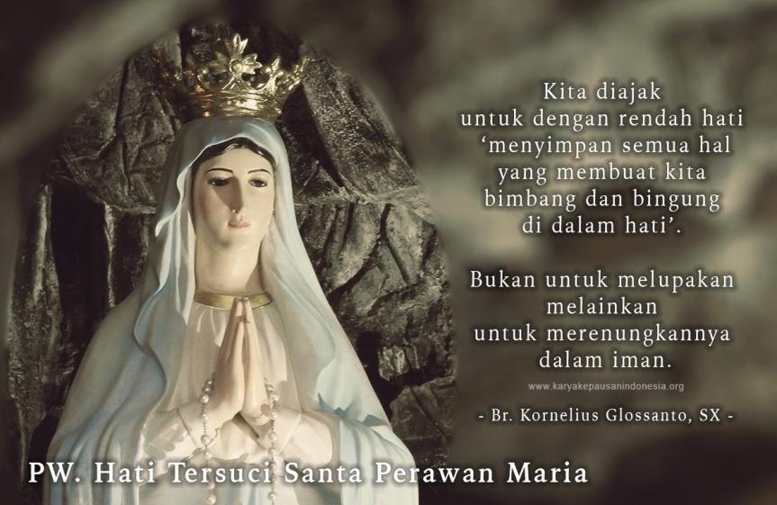 Bunda Maria Sebagai ModelGereja