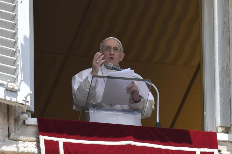 Sapaan Paus Fransiskus pada Doa Malaikat Tuhan – 18 Juli2021