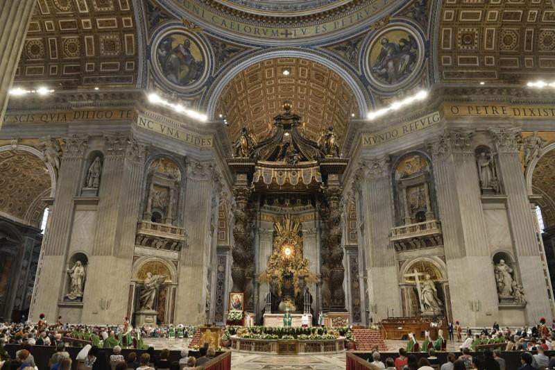 Homili Paus Fransiskus pada Misa Hari Doa Sedunia untuk Kakek-Nenek danLansia