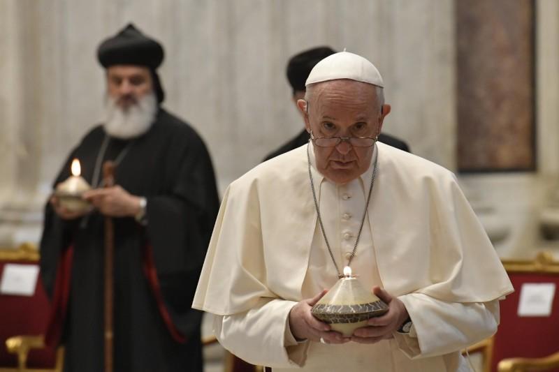 Pidato Paus Fransiksus pada Penutupan Doa Ekumenis Bersama bagi Lebanon – 1 Juli2021