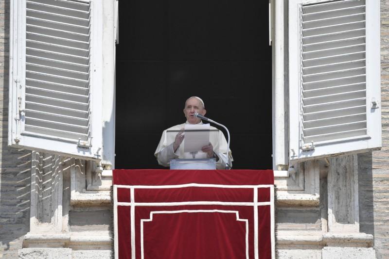 Sapaan Paus Fransiskus pada Doa Malaikat Tuhan – 29 Agustus2021