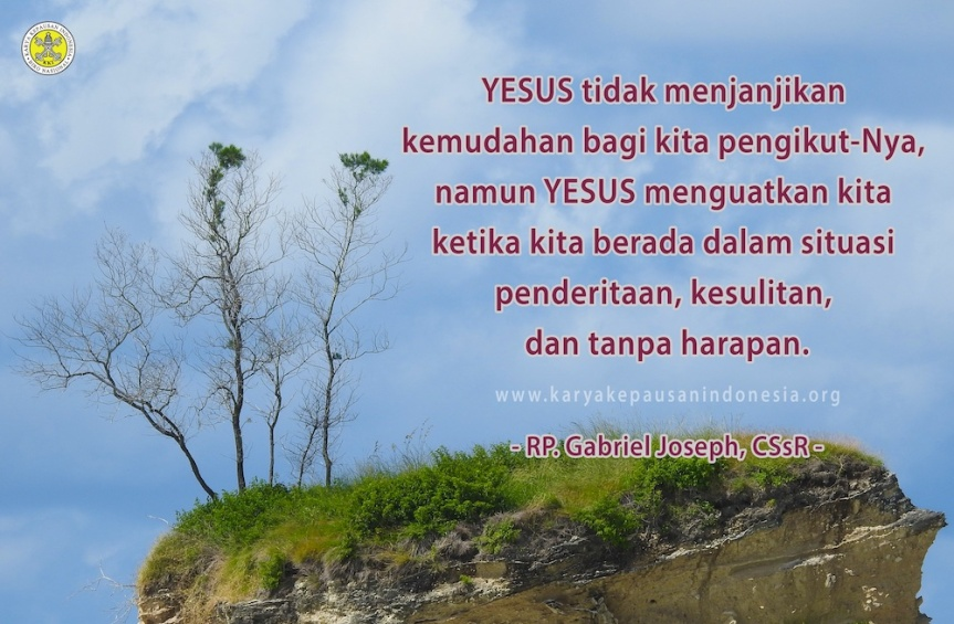 YESUS Berjanji Akan MenguatkanKita