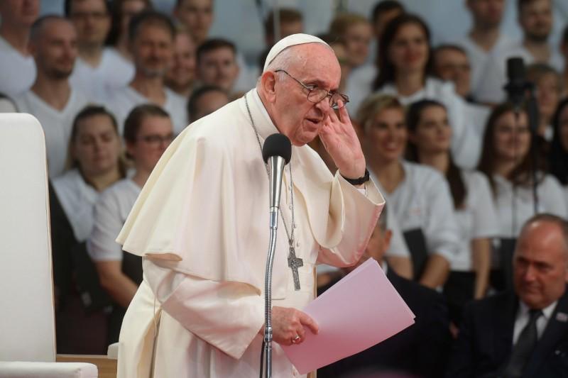 Pidato Bapa Suci kepada Orang Muda di Košice – 14 September2021