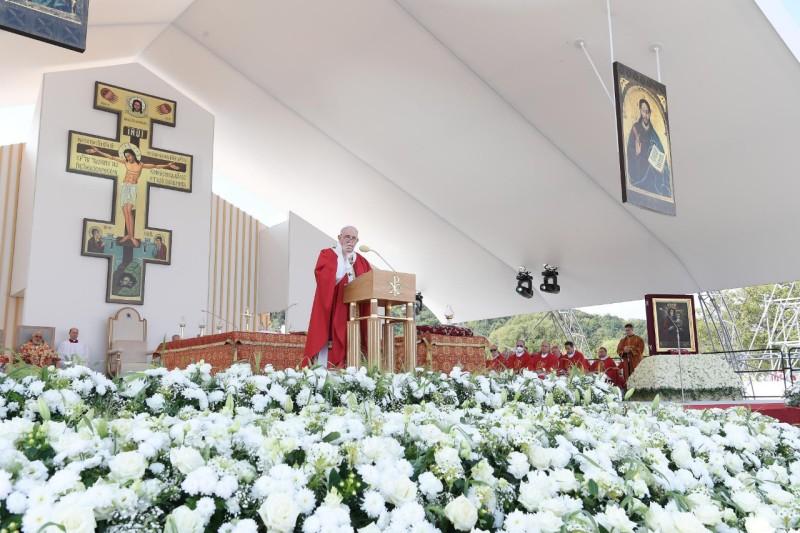 Homili Paus Fransiskus pada Perayaan Liturgi Ilahi Bizantium Santo Yohanes Krisostomus – 14 September2021