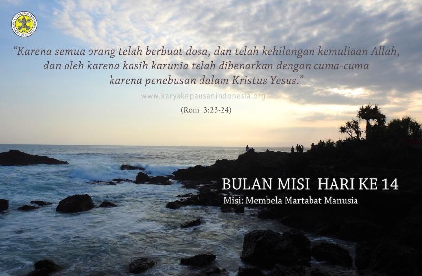 Misi: Membela MartabatManusia