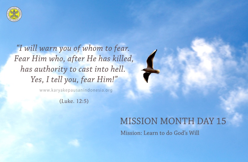 Mission: Learn To Do God'sWill