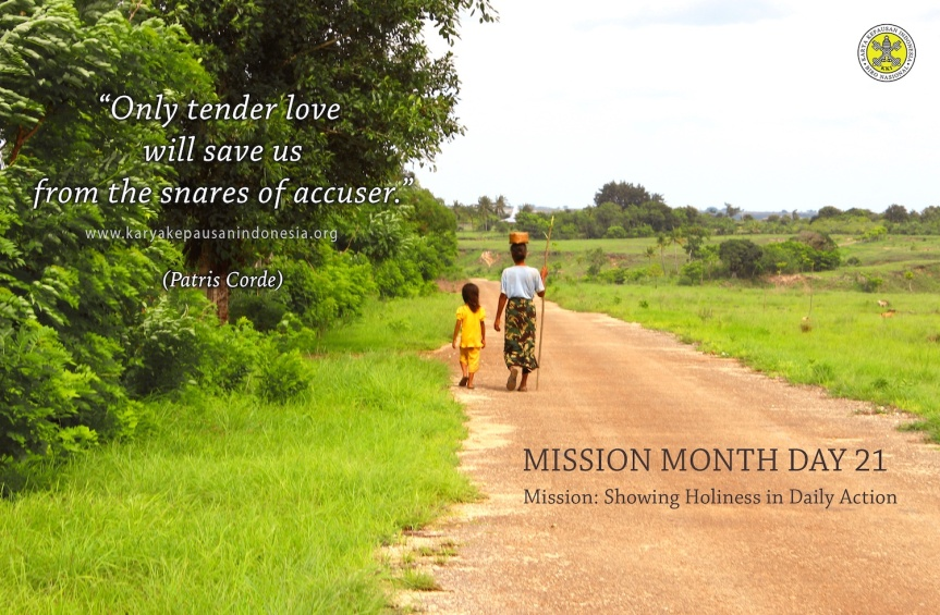 Mission: Showing Holiness In DailyAction