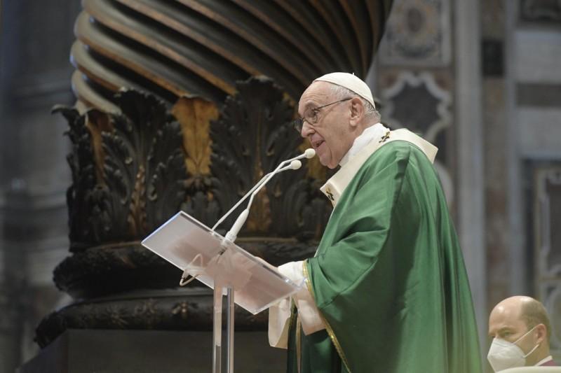 Homili Paus Fransiskus pada Misa Pembukaan Sinode Para Uskup – 10 Oktober2021